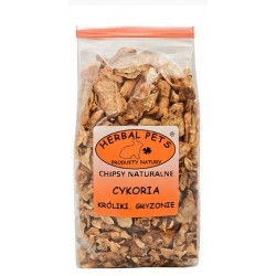 HERBAL PETS Chipsy naturalne cykoria 125g