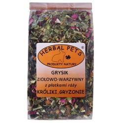 HERBAL PETS Grysik witaminowy z algami 150g