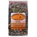 HERBAL PETS Grysik ziołowo-warzywny z płatkami róży 100g