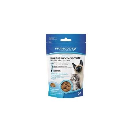 FRANCODEX Przysmak do higieny jamy ustnej dla psów i szczeniąt 75g