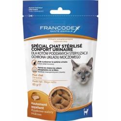 FRANCODEX Przysmak przeciwko zakłaczeniom dla kotów i kociąt 65g