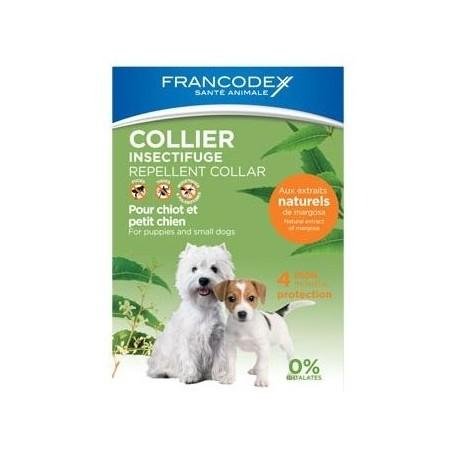 FRANCODEX Obroża odstraszająca insekty dla szczeniąt i psów
