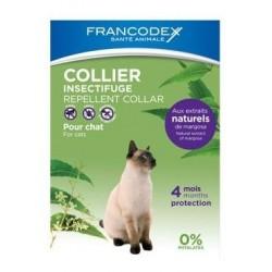 FRANCODEX Obroża odstraszająca insekty dla kociąt