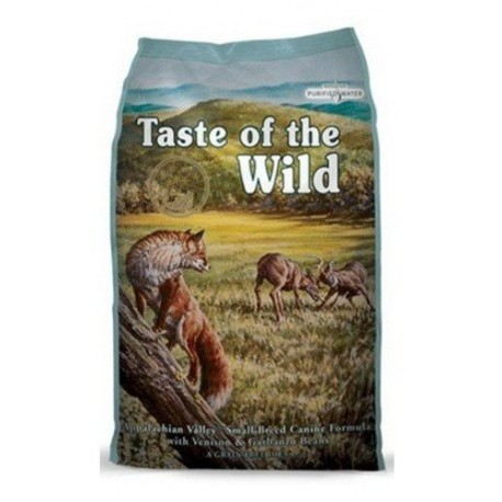 TASTE OF THE WILD DOG Adult Small Appalachian Valley