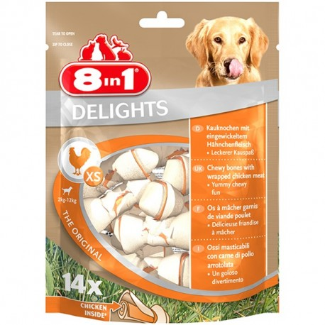 8in1 Delights Bones XS 5szt.
