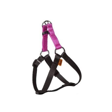 DINGO ENERGY Szelki Fred różowo-czarne