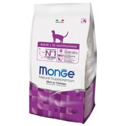 MONGE CAT Natural Superpremium Adult