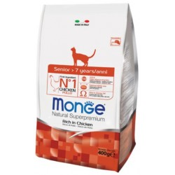 MONGE CAT Natural Superpremium Senior