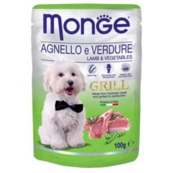 MONGE DOG Fruit Pate 100g tacka