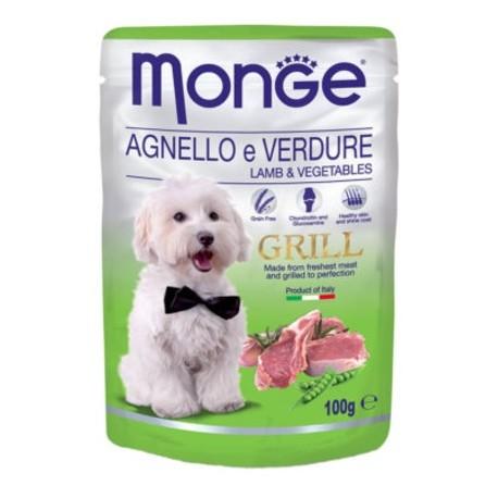 MONGE DOG Fruit Pate 100g tacka