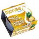 MONGE CAT Fruit Chicken 80g puszka
