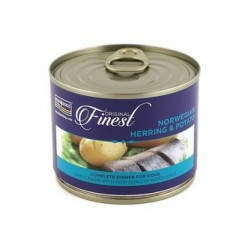 FISH4DOGS DOG Wet Complete Food 185g puszka