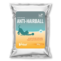 VETFOOD CAT Anti-Hairball 100g