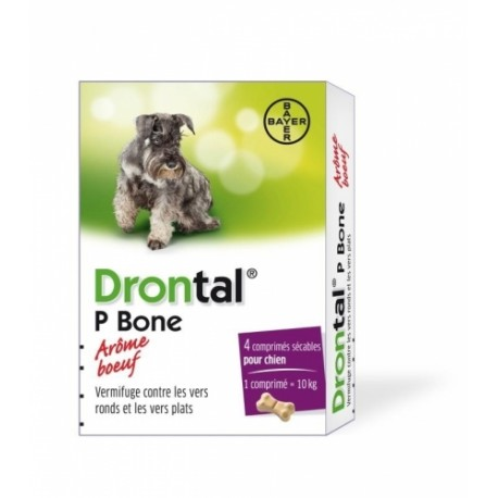 BAYER DRONTAL DOG Flavour 2szt