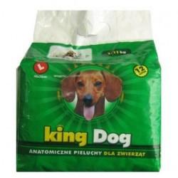 KING DOG Pieluchy dla zwierząt rozm.M