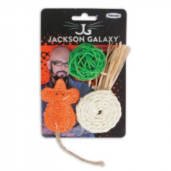 PETMATE Jackson Galaxy Natural Play Time 3szt.