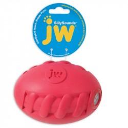 JW PET Silly Sounds Spiral Football