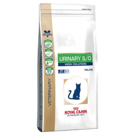 ROYAL CANIN VETERINARY DIET CAT Urinary High Dilution UHD 34