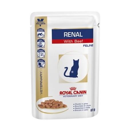 ROYAL CANIN VETERINARY DIET CAT Renal Kurczak Saszetka 85g