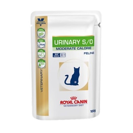 ROYAL CANIN VETERINARY DIET CAT Urinary S/O Moderate Calorie Saszetka 100g