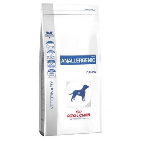 royal canin veterinary diet dog anallergenic an 18 internetowy sklep zoologiczny crazy world pets. Black Bedroom Furniture Sets. Home Design Ideas