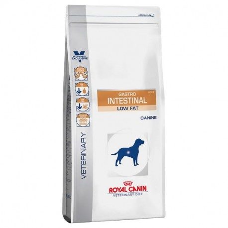 ROYAL CANIN VETERINARY DIET DOG Gastro Intestinal Low Fat LF 22
