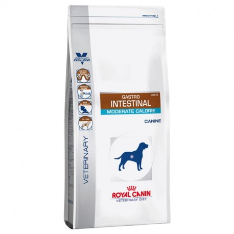 ROYAL CANIN VETERINARY DIET DOG Gastro Intestinal Moderate Calorie GIM 23