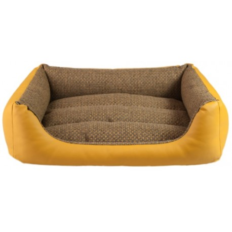 AMIPLAY Morgan Legowisko sofa Brązowa