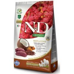 FARMINA N&D GRAIN FREE Dog Quinoa Skin & Coat Duck