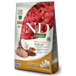 FARMINA N&D GRAIN FREE Dog Quinoa Skin & Coat Venison