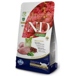 FARMINA N&D GRAIN FREE Cat Quinoa Digestion Lamb & Fennel
