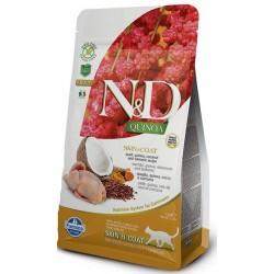 FARMINA N&D GRAIN FREE Cat Quinoa Skin & Coat Herring