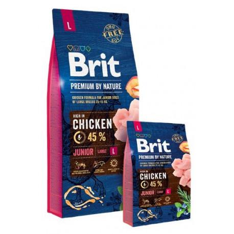 BRIT Premium By Nature Dog Junior L (Large)