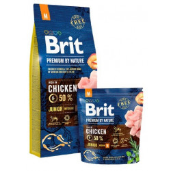 BRIT Premium By Nature Dog Junior M (Medium)