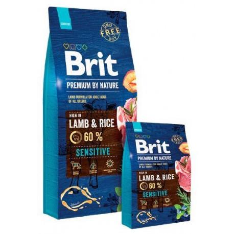 BRIT Premium By Nature Dog Sensitive Lamb&Rice