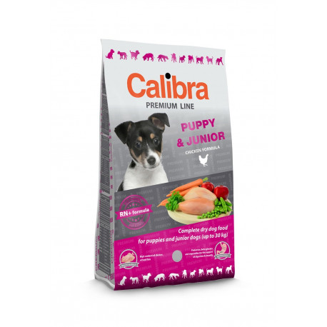 CALIBRA Dog New Premium Puppy & Junior