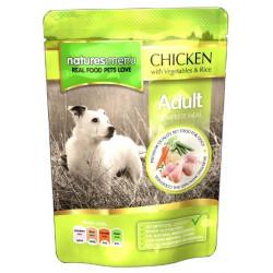 NATURES MENU DOG kurczak z warzywami 300g