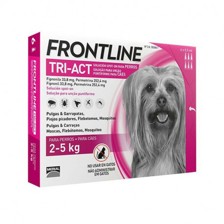 MERIAL FRONTLINE DOG Tri-Act Spot - On 3 pipety