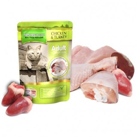 NATURES MENU CAT chicken turkey