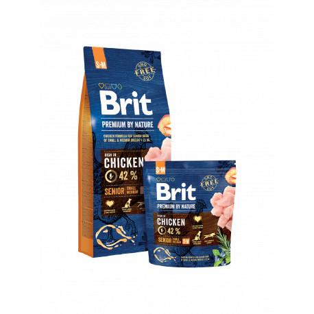 BRIT Premium By Nature Dog Senior S+M (Small + Medium)