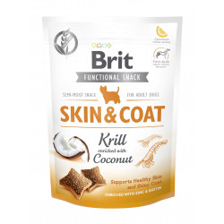 Brit Functional Snack Skin & Coat Krill 150g