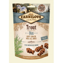 CARNILOVE Soft Snack Trout Enriched With Dill