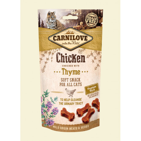 CARNILOVE Soft Snack Chicken & Thyme