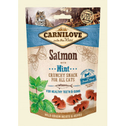 CARNILOVE Crunchy Snack Salmon & Mint