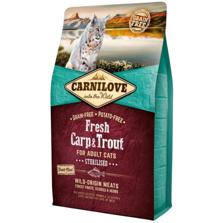 CARNILOVE CAT Fresh Carp & Trout Sterilised