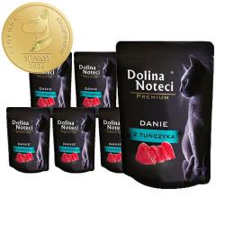 DOLINA NOTECI CAT Premium Danie z tuńczyka 85g