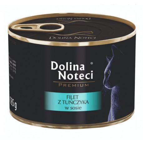DOLINA NOTECI CAT Premium Filet z tuńczyka w sosie 185g