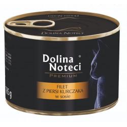 DOLINA NOTECI CAT Premium Filet z piersi kurczaka w sosie 185g