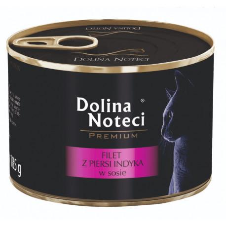 DOLINA NOTECI CAT Premium Filet z piersi indyka w sosie 185g