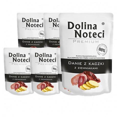 DOLINA NOTECI DOG Premium Danie z kaczki z ziemniakami 100g